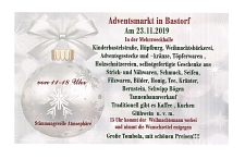 Adventsmarkt in Bastorf am 23. November 2019